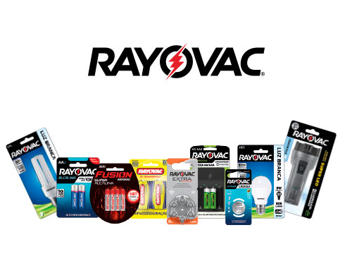 Produtos Rayovac